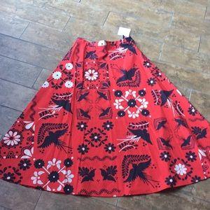 Red Valentino skirt. NWT.